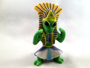 Ancient Alien in Full Color Sandstone