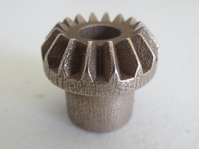Bevel Gear in White Strong & Flexible