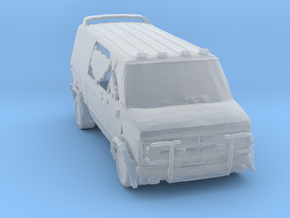 Wastelands Z-team van.  in Frosted Ultra Detail