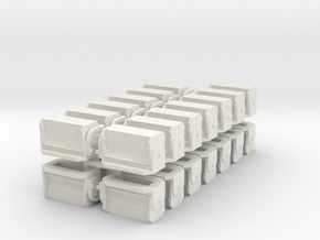 #3 Ballast Gate M-K - S Scale in White Strong & Flexible