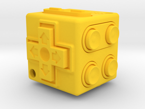 JoyCube in Yellow Strong & Flexible Polished