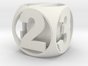 Crazy Dice in White Strong & Flexible