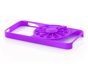 Rotary Phone Case for iPhone 5 / 5s in Purple Strong & Flexible Polished