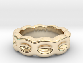 Funny Ring 27 – Italian Size 27 in 14k Gold Plated