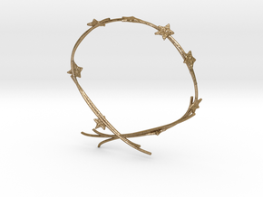 Ivy Bracelet in Polished Gold Steel