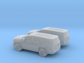 1/160 2X 2015 Chevrolet Tahoe in Frosted Ultra Detail
