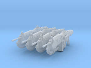 COG Assault Rifle (1:18 Scale) 4 Pack in Frosted Ultra Detail