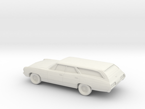 1/87 1967 Chevrolet Impala Station Wagon in White Strong & Flexible