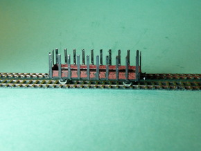 Flatcar / Rungenwagen Set of 4 1/285 6mm in Frosted Ultra Detail