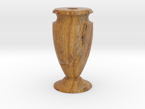 Flower Vase-1 2mm in Full Color Sandstone
