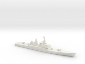 USS CGN-38 Virginia, 1/1800 in White Strong & Flexible