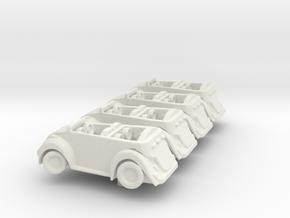 Hamptoncars in White Strong & Flexible
