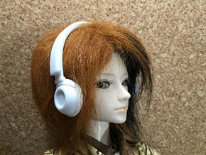 Headphones DRAMAtical Murder Version: BJD Doll MSD in White Strong & Flexible