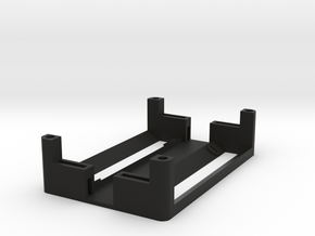 1550P 2x18650 Battery Sled in Black Strong & Flexible