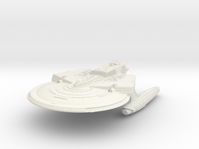 Reliant Refit Class Cruiser in White Strong & Flexible