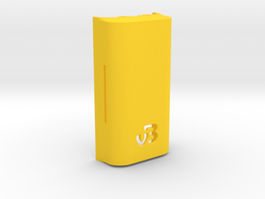 DNA200 Premium case - Extended back in Yellow Strong & Flexible Polished