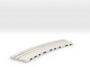 P-9-165stw-long-250r-curved-inside-1a in White Strong & Flexible