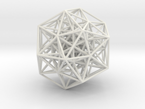600-cell, partial, 606 edges in White Strong & Flexible