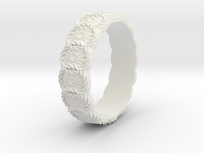 Daisy - Ring - US 6¾ - 17.12mm in White Strong & Flexible