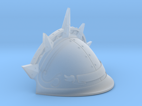 Spiked Shoulder pad for Knight Titan LEFT in Frosted Extreme Detail