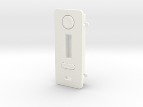 DNA200 FacePlate with with easy mount in White Strong & Flexible Polished