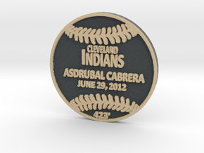 Asdrubal Cabrera in Full Color Sandstone