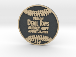 Aubrey Huff in Full Color Sandstone