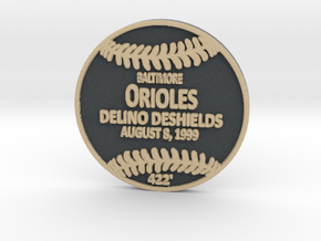 Delino Deshields in Full Color Sandstone