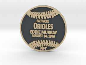 Eddie Murray in Full Color Sandstone