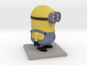 Minion Despicable Me in Full Color Sandstone