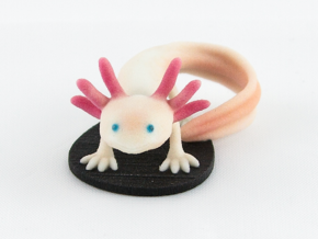 Axolotl in Full Color Sandstone