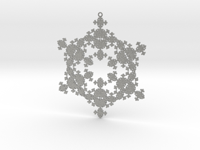 Fractal Snowflake 1 - LP in Metallic Plastic