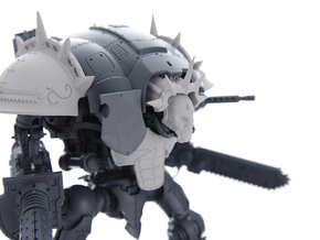 Spiked Shoulder pad for Knight Titan RIGHT in Frosted Ultra Detail
