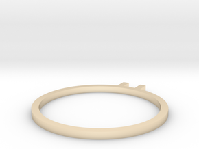 � ring 16.7mm in 14K Gold