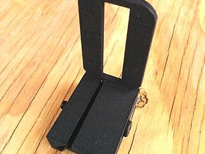 Camera Phone Picatinny Mount in Black Strong & Flexible
