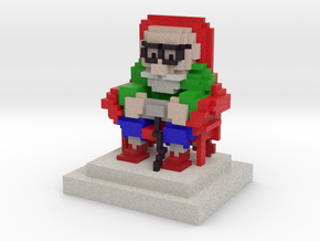 Master Gamer in Full Color Sandstone