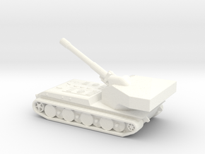 Panzerkampfwagen E-100 Waffentrager (1/285) Qty. 1 in White Strong & Flexible Polished