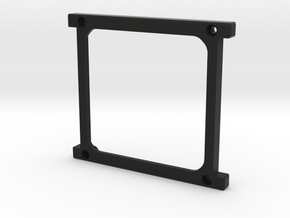 Ardusatr DemoSat Frame Tray (1 of 4 part cube) in Black Strong & Flexible