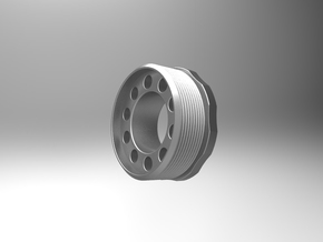 RB-Piston-Cage-Cap in White Strong & Flexible