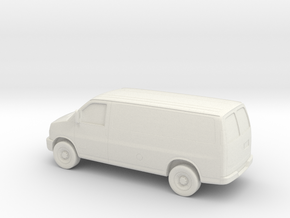 1/64 2003-14 Chevrolet Express Van in White Strong & Flexible