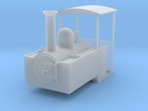HOe Decauville style steam loco in Frosted Extreme Detail
