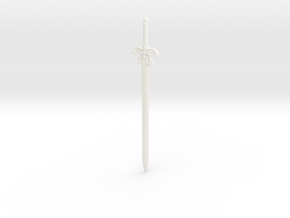 1/6 Movie Powersword in White Strong & Flexible Polished