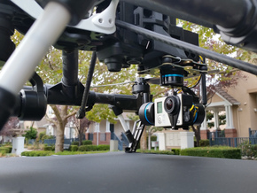Gimbal Mount plate for DJI Inspire 1 in Black Strong & Flexible