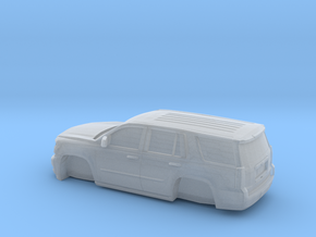 1/64 2015 Chevrolet Tahoe Without Tires in Frosted Extreme Detail