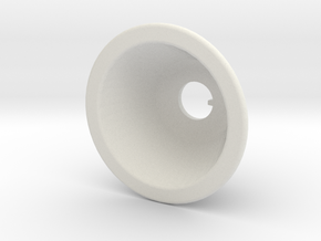 Toggle Switch Bezel Single in White Strong & Flexible