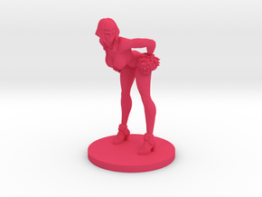 Cheerleader #3 for Slaughterball in Pink Strong & Flexible Polished
