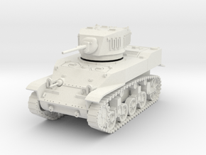 PV91A M5A1 Light Tank (28mm) in White Strong & Flexible