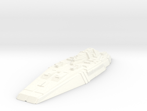 Battleship Concept - Savior in White Strong & Flexible Polished