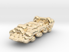 Military Truck in 14K Gold