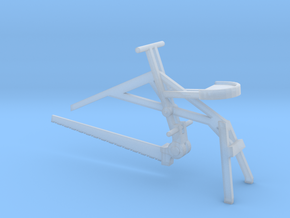 Seated Saw, HO Scale in Frosted Ultra Detail